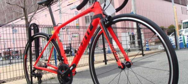 明石 GIANT TCR ロードバイク 販売 修理