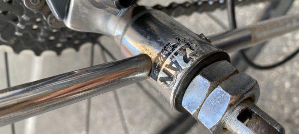 ハンガー修正|サクラマチサイクル