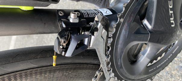 ロードバイク|ワイヤー交換